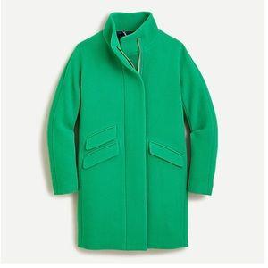 NWT J Crew Cocoon Coat - Italian Stadium Cloth